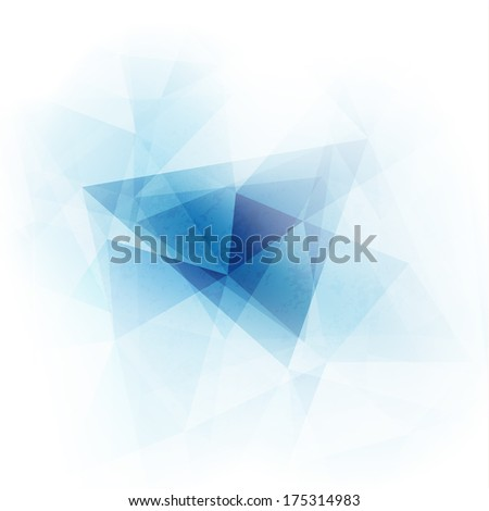 Abstract geometric triangles background  - raster version - stock photo
