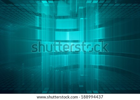 Abstract geometrical background - stock photo
