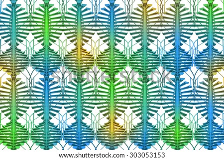 Abstract geometrical colorful seamless pattern background - stock photo