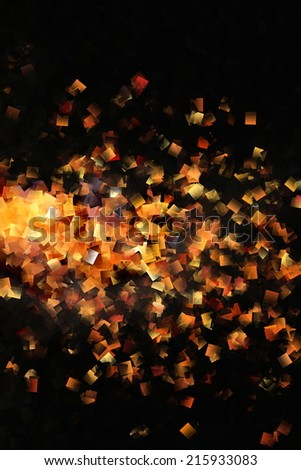 Abstract Gold and Black Design 3 - stock photo