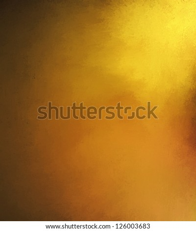 abstract gold background brown warm tone, luxury smooth background texture design with bright spotlight for sunny shiny blurred light image, rich luxury yellow background, vintage grunge texture art - stock photo