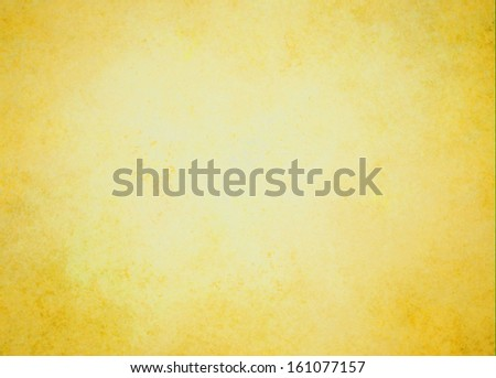 abstract gold background Christmas color white center dark frame, soft faded sponge vintage grunge background texture design, graphic art use in product design web template brochure ad, yellow paper  - stock photo