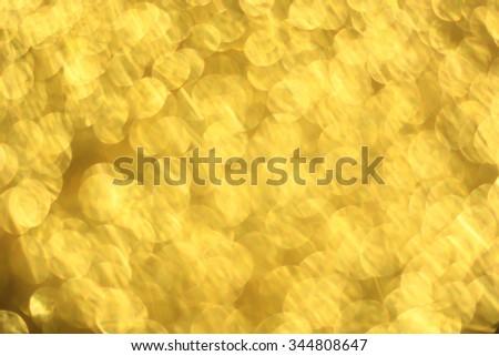 Abstract golden bulbs backgrounds:gold bronze metallic Christmas festive decoration backdrop:celebration xmas wallpaper concept. - stock photo