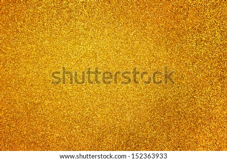 Abstract golden glitter background - stock photo