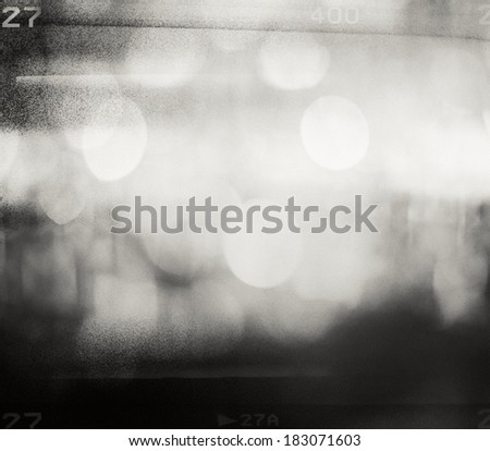 Abstract grained film strip texture - stock photo