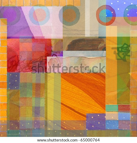abstract graphic design background design composition - stock photo