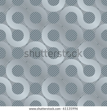 abstract gray flow background (seamless  pattern) - stock photo