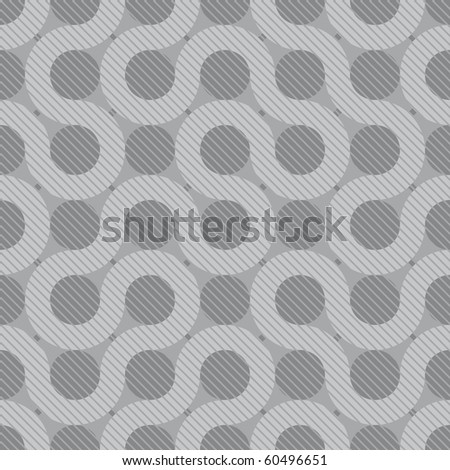 abstract gray flow background (tileable pattern) - stock photo