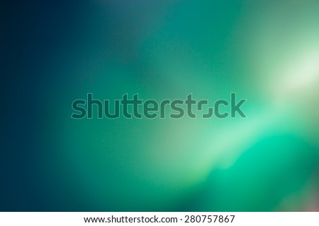 Abstract green and blue color background - stock photo