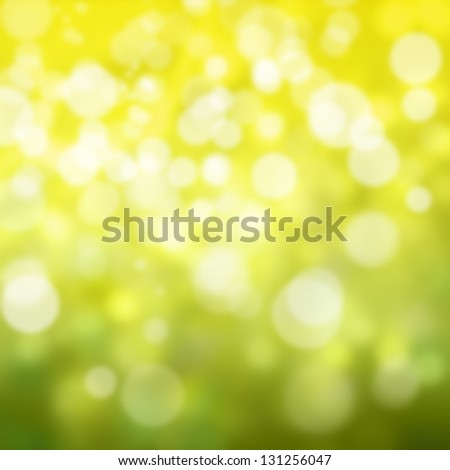 abstract green and yellow colour background. - stock photo