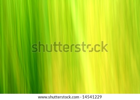 Abstract green and yellow ecology background - stock photo
