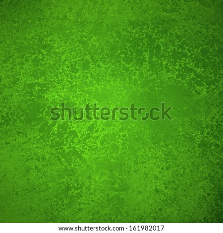 abstract green background Christmas design colors with sponge vintage grunge background texture, distressed rough smeary paint on wall, art canvas or board for brochure ad or website template  - stock photo