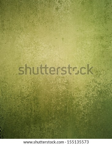 abstract green background olive color, vintage grunge background texture gradient design, website template background, distressed texture rough messy paint canvas, pastel green Easter background  - stock photo