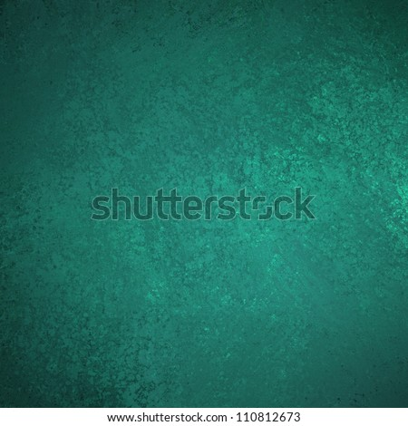 abstract green background or blue background with vintage grunge background canvas texture design painted wall illustration for scrapbook paper or web background templates or abstract background - stock photo