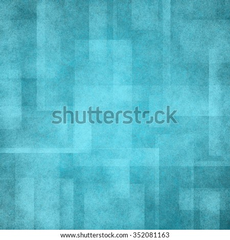 abstract green background pattern with blocks and rectangle layers - stock photo