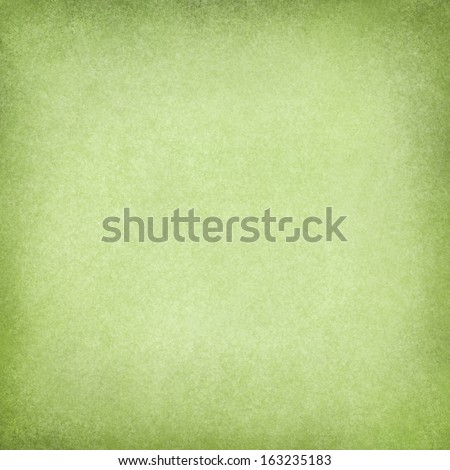 abstract green background, soft Christmas color image for use in brochure ads or web design backgrounds, faint vintage grunge background texture and darker border with light blank center for text - stock photo