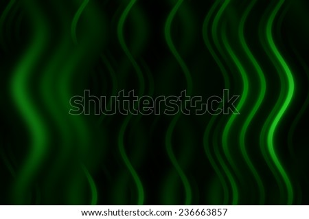 Abstract green background with fractal waves - stock photo