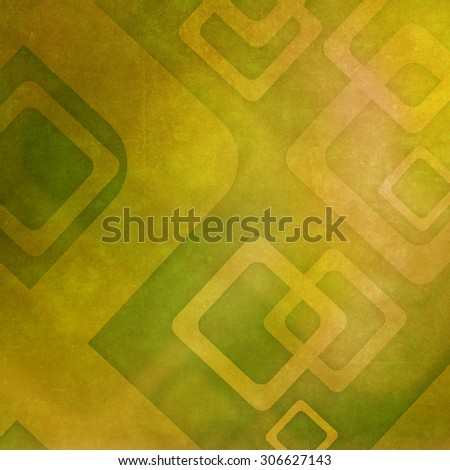 Abstract green background with geometric pattern - stock photo