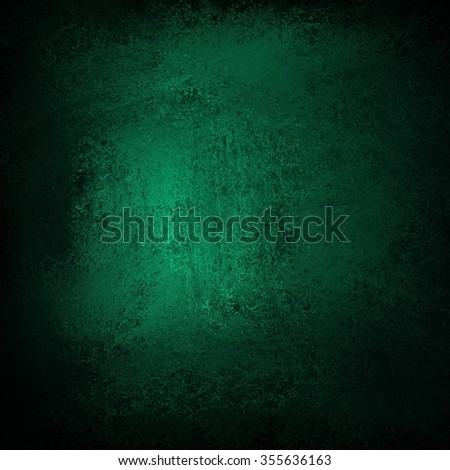 abstract green background with grunge black vignette border design, st. patricks day background color - stock photo