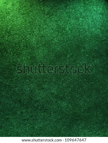 abstract green background with vintage grunge texture design and soft faded color, elegant Christmas background or st. patrick's day paper for brochures or poster ads or web template background - stock photo