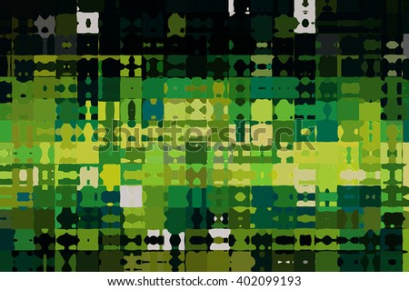 Abstract green creative background - stock photo