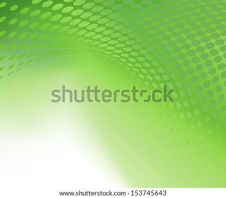 Abstract green dot design jpg background template for healthcare and various artworks, graphics, cards, banners, ads and much more. Plenty of space for text. - stock photo