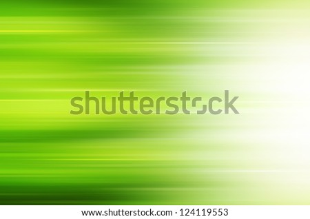 Abstract green lines background. - stock photo