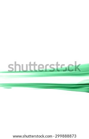 Abstract green smoke on white background, smoke background,green ink background,green, beautiful color smoke - stock photo