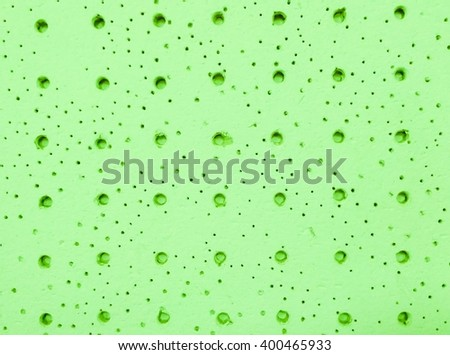 abstract  green Soundproof walls,rough background - stock photo