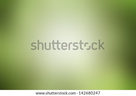 Abstract green wave background. - stock photo