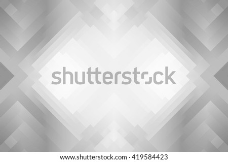 Abstract grey background with ornament - stock photo
