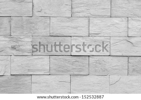 Abstract grey tiled wall texture background - stock photo