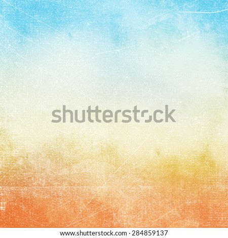 Abstract grunge background in blue being color. - stock photo