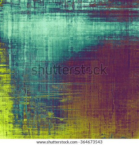 Abstract grunge background of old texture. With different color patterns: yellow (beige); blue; purple (violet); cyan - stock photo