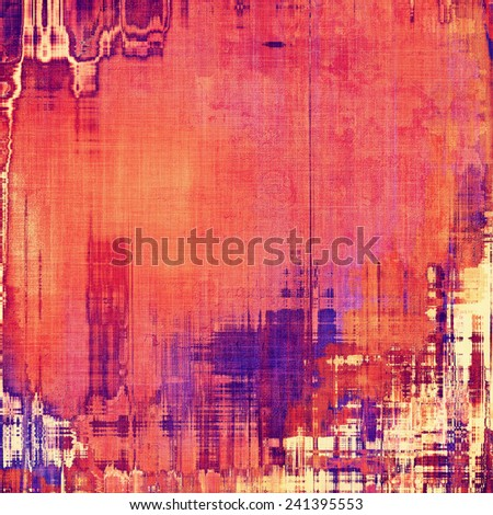 Abstract grunge background. With different color patterns: purple (violet); pink; blue; red (orange); yellow (beige) - stock photo