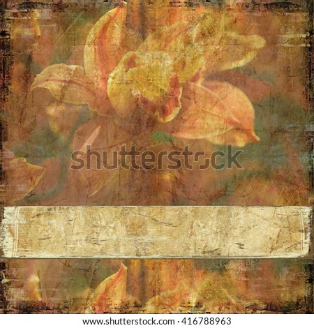 Abstract Grunge Background with space for your text - stock photo