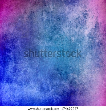 Abstract grunge blue texture for background - stock photo