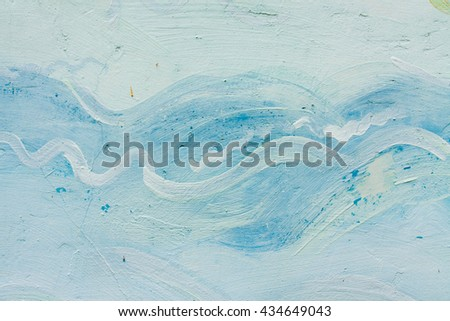 Abstract  grunge brush strokes hand painted background.Can be used for design, websites, interior, background, backdrop, texture creation, the use of graphic editors and illustration. - stock photo