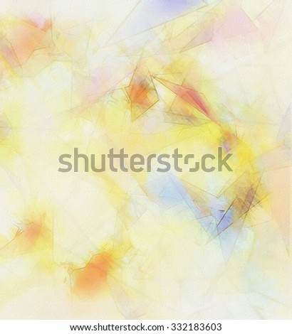 abstract grunge colorful sheet of paper background - stock photo