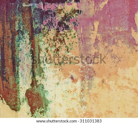 Abstract grunge old wall background - stock photo