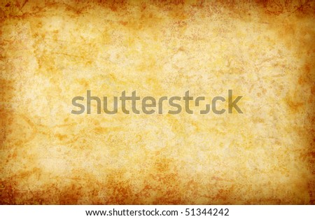 abstract grunge yellow background for multiple uses - stock photo