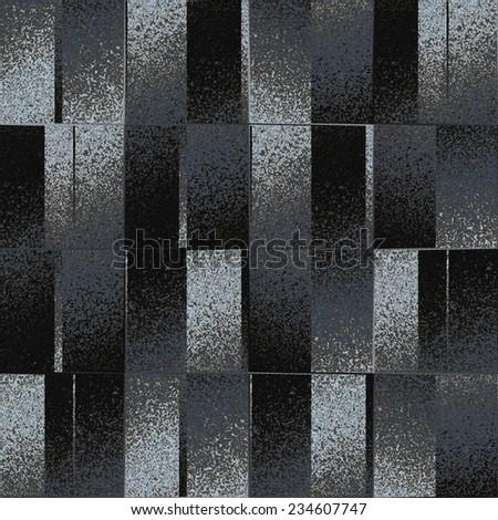 Abstract grungy noisy block background. Seamless pattern. - stock photo