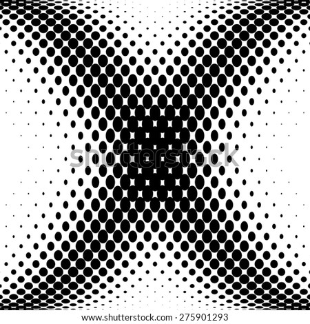 Abstract Halftone Background - stock photo