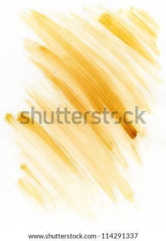 Abstract hand drawn watercolor background - stock photo