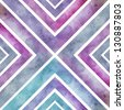 Abstract  hand drawn watercolor cross background, stain watercolors colors wet on wet paper. Retro backdrop. - stock photo