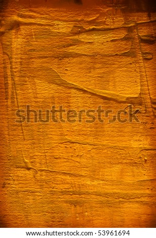 Abstract  hand painted  art for  background - stock photo