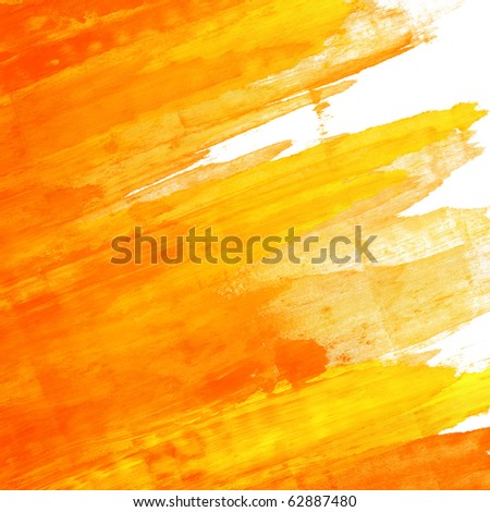 Abstract hand painted background - stock photo