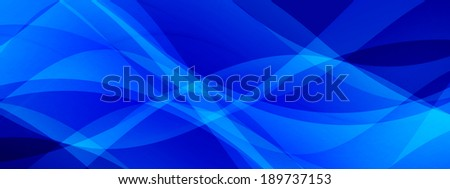 Abstract horizontal banner design with transparent color tones - stock photo