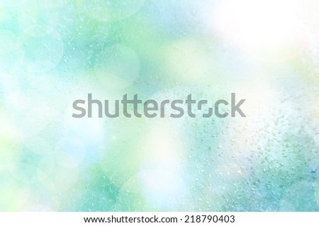 abstract ice cube in light background - stock photo