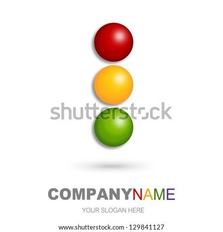Abstract icon - stock photo